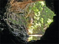 GtB The Faimous Rio Frio Cave at ther Mountain Pine Ridge Nationalpark in Belize