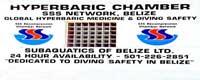 GtB Schild der San Pedro Hyperbaric Chamber