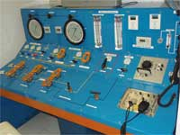 GtB Kotrollpult der Hyperbaric Chamber von San Pedro