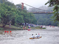 GtB La Ruta Maya River Challenge close to San Ignacio