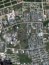 GtB The Capital Belmopan from the Sky over Belize