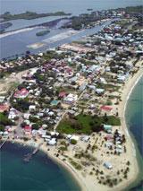 GtB Der Strand von Placencia in Belize
