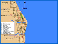 GtB Map of Dangriga Belize