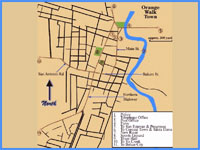 GtB Map of Orange Walk Town Belize