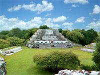 GtB Die Altun Ha Maya Ausgrabungsstätte in Belize