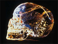 GtB The mysterial crystal skull fron Lubaantun in Belize