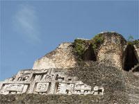GtB West Side stucco Relief on El Castillo