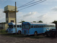 GtB Ritchie's Bus in Placencia