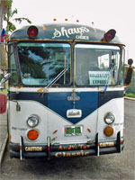 GtB Shaws                                             Bus in Belize City