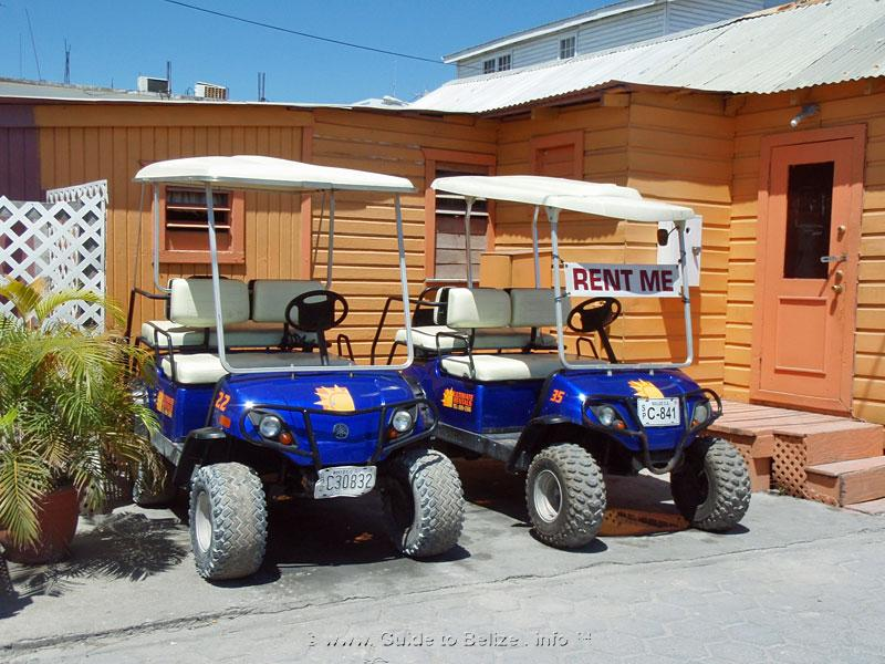Car Rental Ambergris Caye
