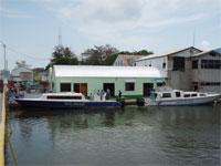 GtB Der Belize City Wassertaxi Terminal