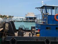 GtB Fidos Dock mit der Island Ferry