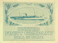 GtB United Fruit ad of the white fleet, a century ago