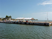GtB The Muelle Fiscal, Customs Dock in Chetumal