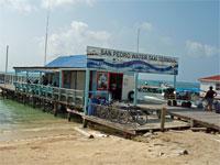 GtB Das San Pedro Belize Express Wassertaxi Büro