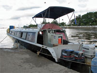 GtB Belize Guide, the Nesymein Nedy Water Taxi