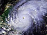 GtB Hurrikan Mitch auf dem Weg nach Belize