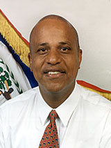 GtB Dean Oliver Barrow the Prime Minister of  Belize.