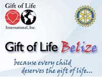 GtB Help Children with Heart Problems. Gift of Life Belize