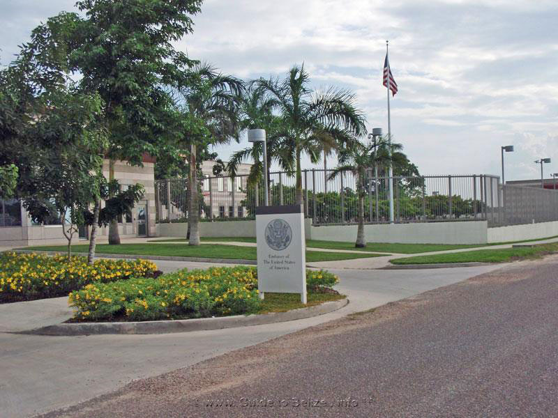 Guide to foreign Embassies and Consulates in Belize and Belizean