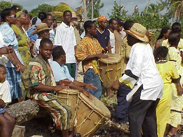 Stann Creek or Dangriga with a Garifuna Party