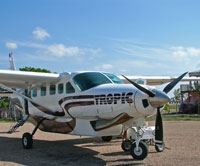 Tropic Air in Corozal