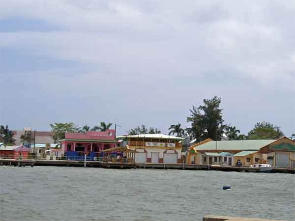 Belize from the See