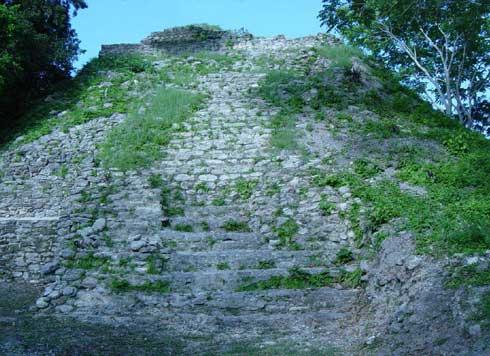 Die Cerros Maya Ruin in Belize